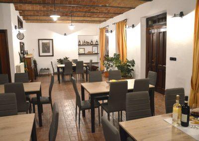 Sala degustazione vini Franco Francesco