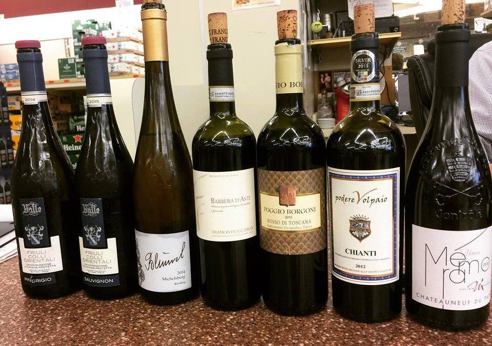 Franco Francesco wine tasting in Albany, New York