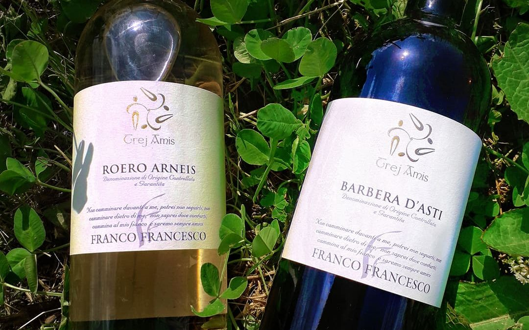 Barbera d'Asti Trej Amis, can a glass of wine really warm our hearts?