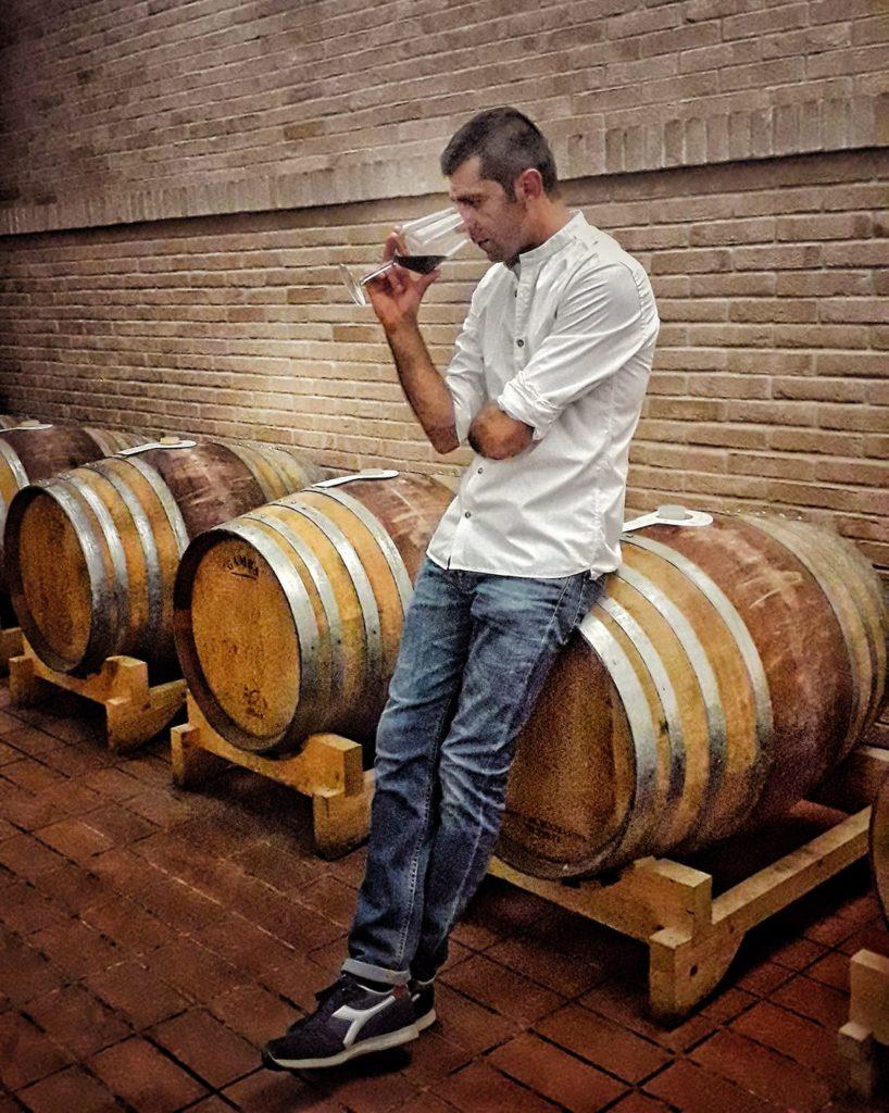 Maurizio Franco, titolare e produttore della Casa Vinicola Franco Francesco